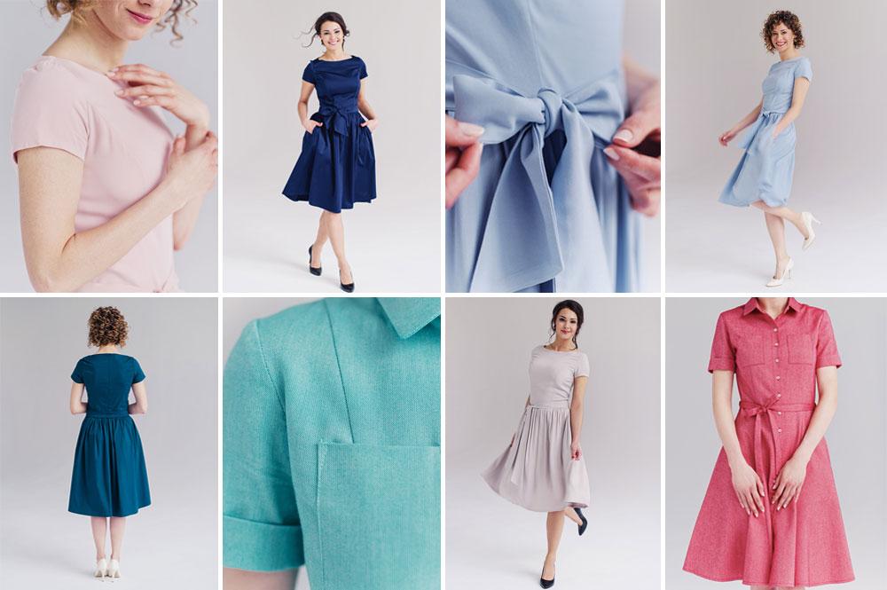 Sesja produktowa sukienek marki Marie Zélie