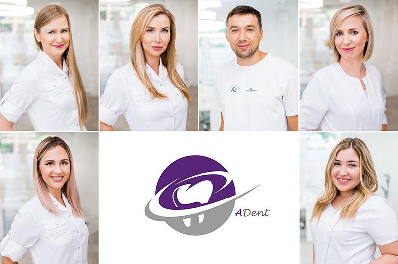 Kompleksowa sesja wizerunkowa dla gabinetu medycznego i stomatologicznego ADent / Jantar