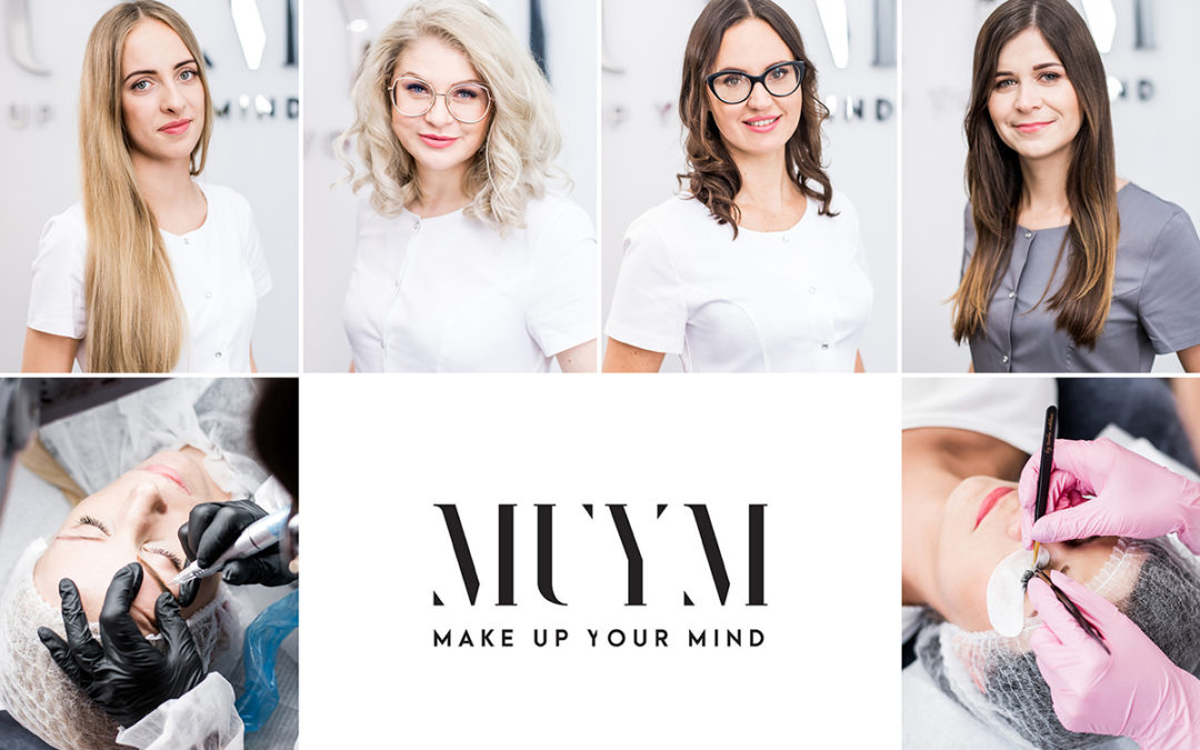 Kompleksowa sesja wizerunkowa dla gabinetu kosmetologicznego Make Up Your Mind / Gdynia